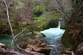 Urederra river in Navarre