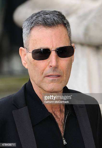 Uri Geller attends a memorial service for Sir David Frost at Westminster Abbey on March 13 2014 in London England