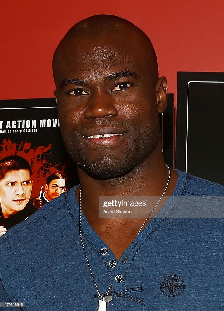 Uriah Hall attends 'The Raid 2' special screening at Sunshine Landmark on March 17, 2014 in New York City.