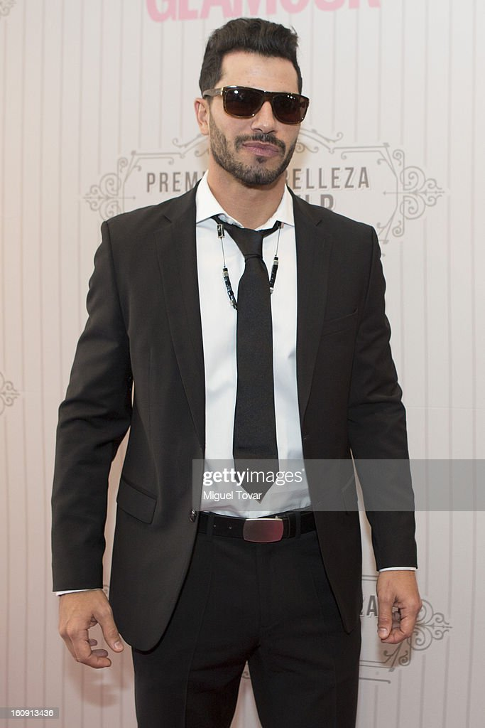 Uriel del Toro attends the 'Glamour Magazine Beauty Awards' at Indianilla cultural center on February 7, 2013 in Mexico City, Mexico.