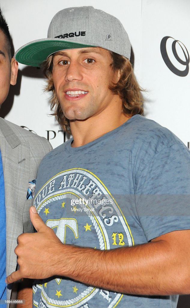 <a gi-track='captionPersonalityLinkClicked' href=/galleries/search?phrase=Urijah+Faber&family=editorial&specificpeople=2312319 ng-click='$event.stopPropagation()'>Urijah Faber</a> attends the Optical Panacea Launch Party at HERAEA at the Palms Casino Resort on May 24, 2013 in Las Vegas, Nevada.