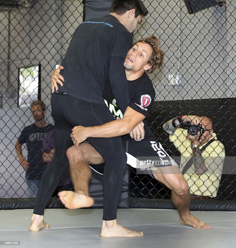 Urijah Faber Is Training For His Upcoming Fight With Frankie Edgar In The Philippines On Saay