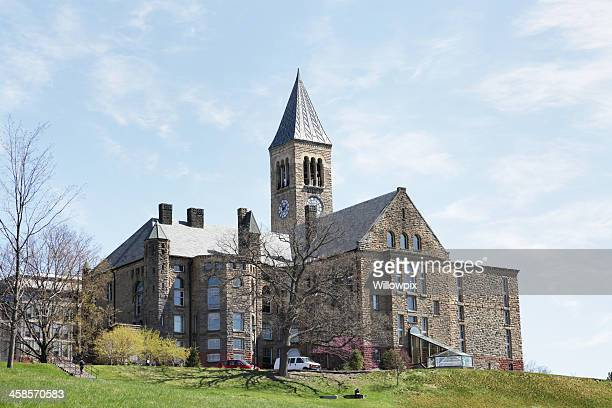 URI Libreria e McGraw Clock Tower presso la Cornell University
