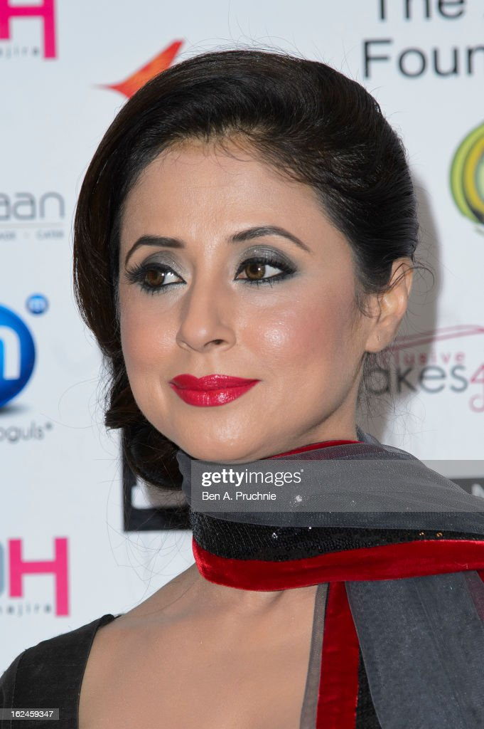 <a gi-track='captionPersonalityLinkClicked' href=/galleries/search?phrase=Urmila+Matondkar&family=editorial&specificpeople=2123211 ng-click='$event.stopPropagation()'>Urmila Matondkar</a> attends a charity fundraising event hosted by Manish Malhotra in aid of 'Save the Girl Child' at The Grosvenor House Hotel on February 23, 2013 in London, England.