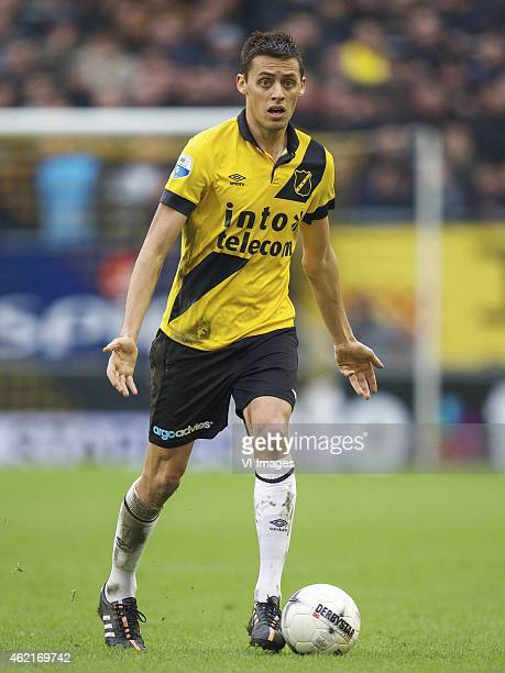 Uros Matic of NAC Breda during the Dutch Eredivisie match between NAC Breda and Willem II at the Rat Verlegh stadium on january 25 2015 in Breda the...