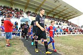 Uros Spajic of Toulouse during the Pre season friendly match between Toulouse Fc and Osasuna on July 22 2016 in Hendaye France