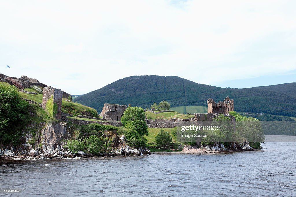 Urquhart castle and lock ness
