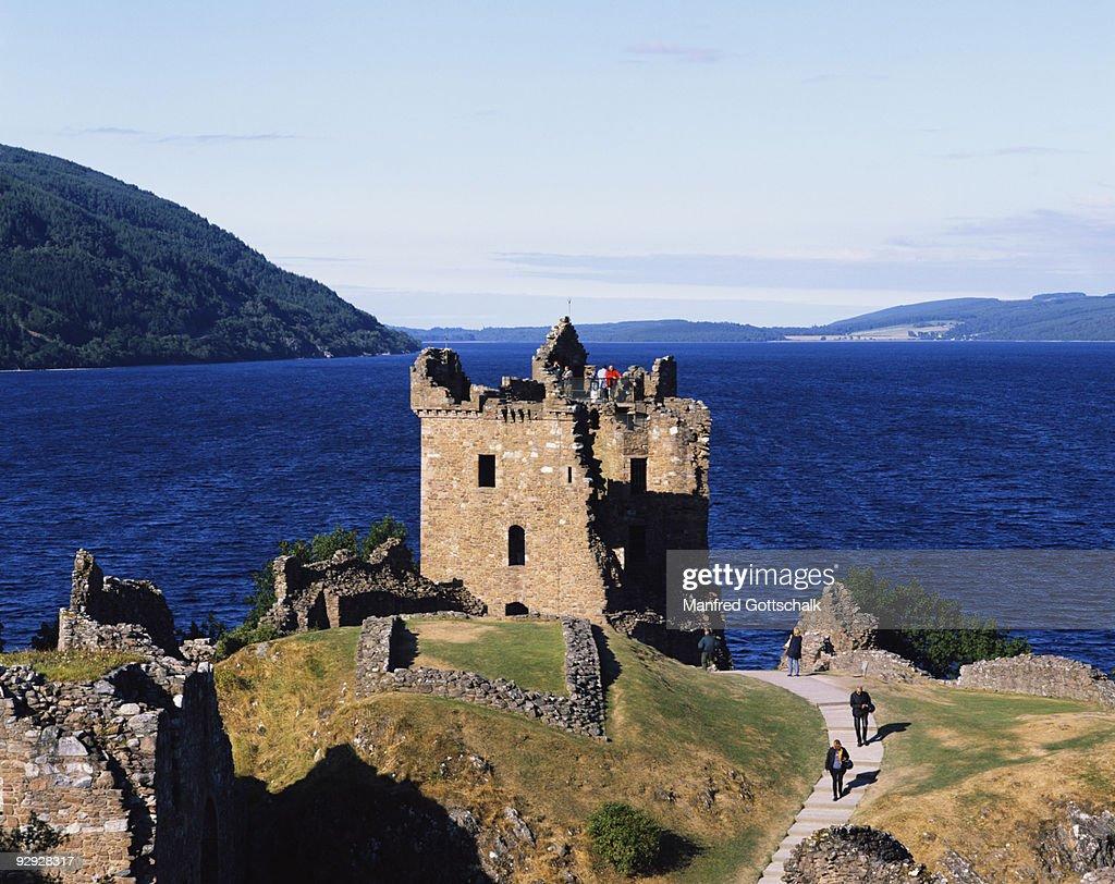 Urquhart Castle , Loch Ness , The Great Glen , Highlands , Scotland , Great Britain