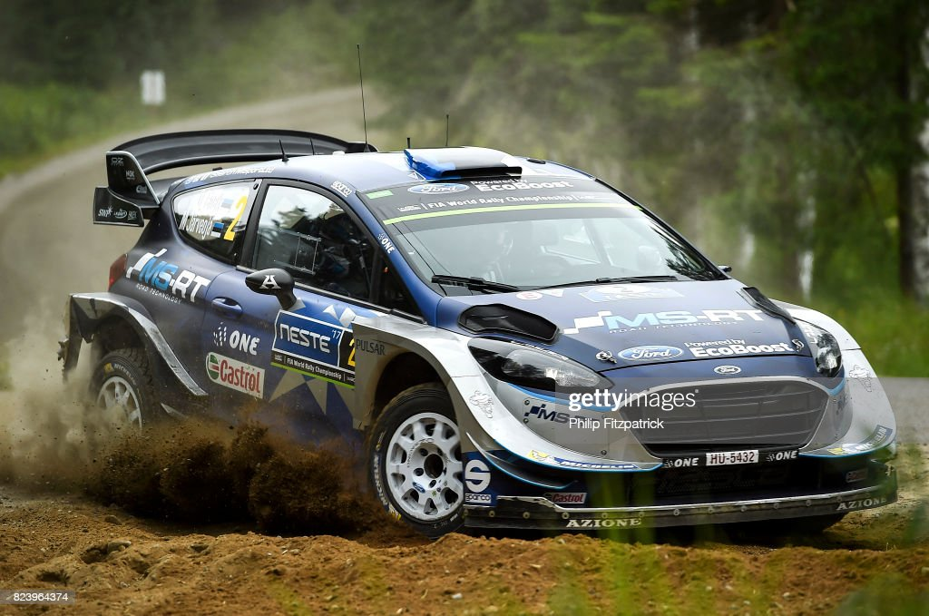 FIA World Rally Championship Finland - Day One