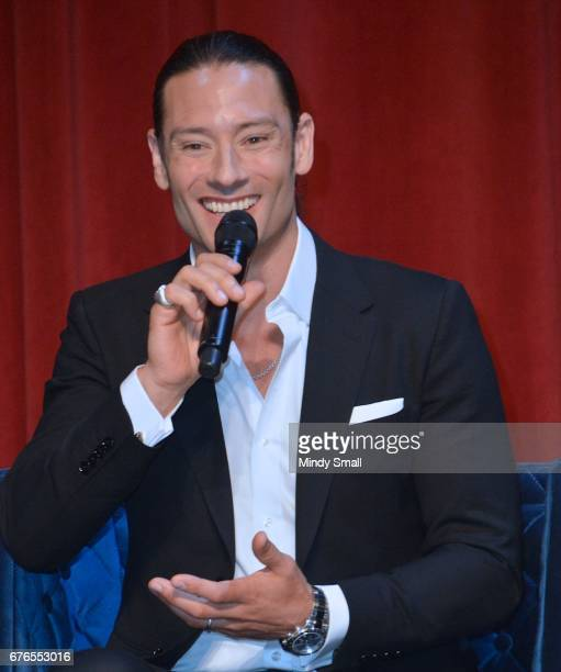 Urs Buhler of Il Divo attends a news conference announcing the group's September sixshow headlining engagement 'Il Divo This is Your Night Live in...