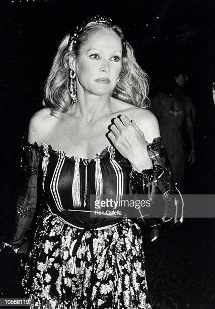 Ursala Andress during Valentino Awards honoring Gregory Peck at Century Plaza Hotel in Century City California United States