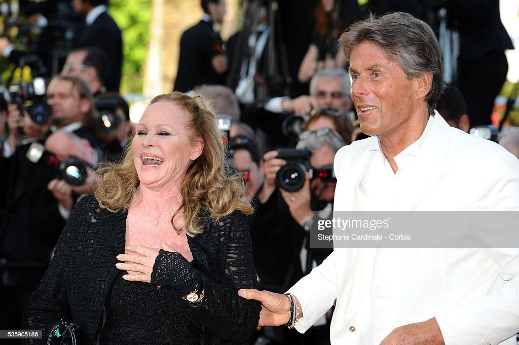 Ursula Andress and Dominique Desseigne at the Premiere for 'Biutiful' during the 63rd Cannes International Film Festival.
