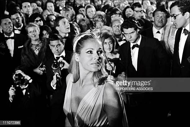 Ursula Andress Atmosphere Of Cannes Film Festival In Cannes France On May 24 1965