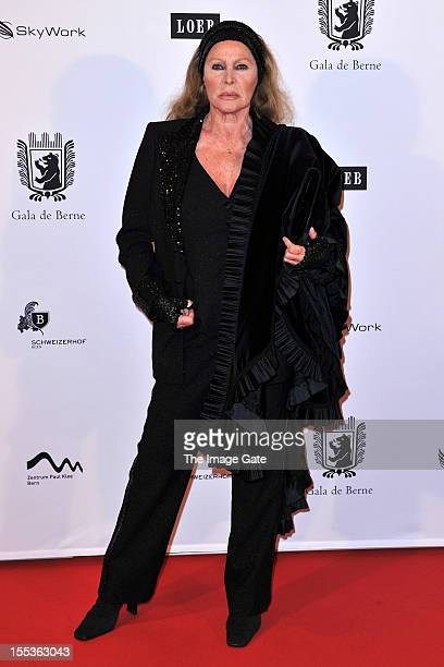 Ursula Andress attends the Gala of Bern in her honour celebrating 50 years of the James Bond films held at the Zentrum Paul Klee on November 3 2012...