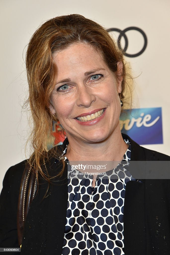 Ursula Buschhorn during the Audi Director's Cut during the Munich Film Festival 2016 at Praterinsel on June 25, 2016 in Munich, Germany.