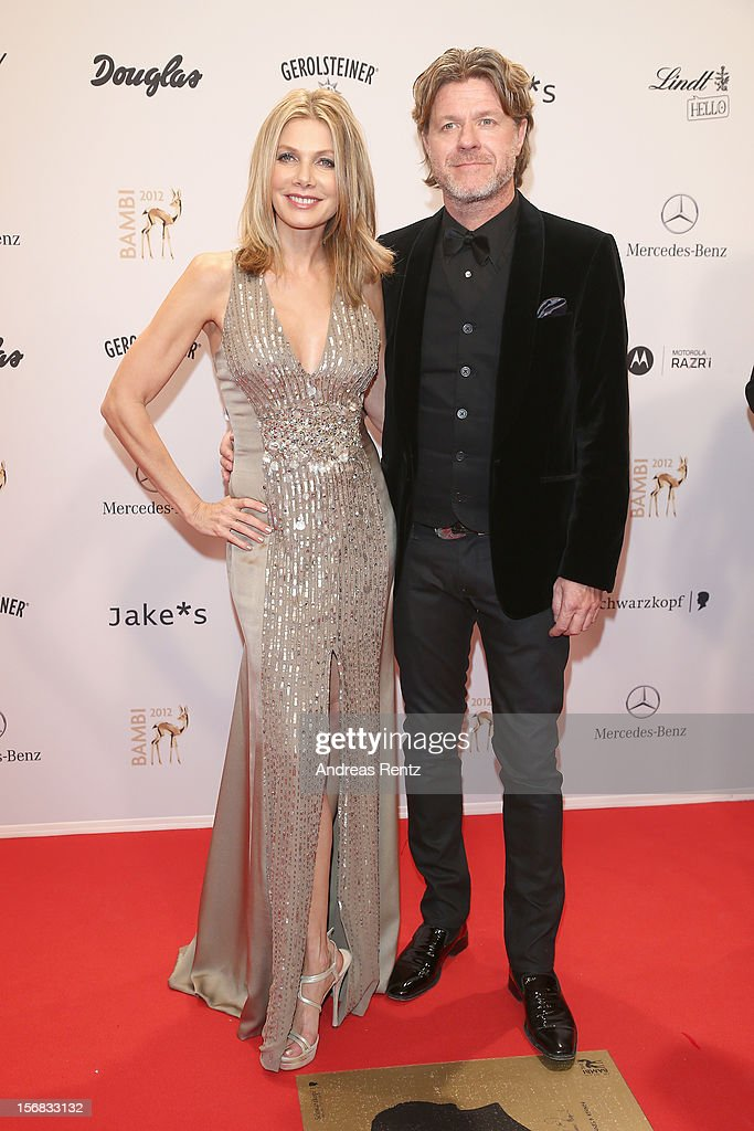 Ursula Carven and Mats Wahlstroem attend 'BAMBI Awards 2012' at the Stadthalle Duesseldorf on November 22, 2012 in Duesseldorf, Germany.