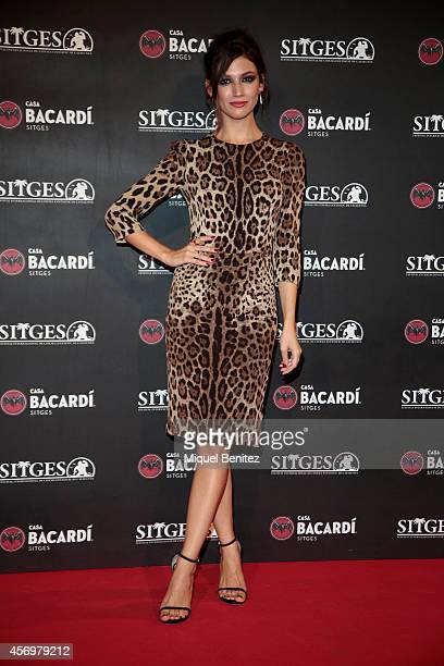 Ursula Corbero attends a photocall for the 'Bacardi Sitges' Awards 2014 held at the Casa Barcardi during the '47th Sitges Film Festival 2014' on...