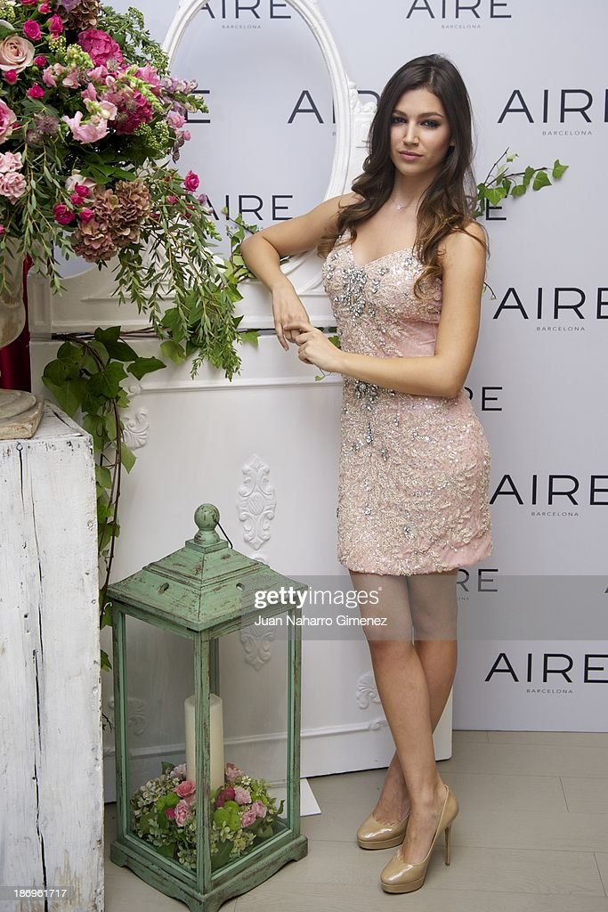 <a gi-track='captionPersonalityLinkClicked' href=/galleries/search?phrase=Ursula+Corbero&family=editorial&specificpeople=5514327 ng-click='$event.stopPropagation()'>Ursula Corbero</a> attends Aire Barcelona new collection presentation at Aire Barcelona Store on November 5, 2013 in Madrid, Spain.