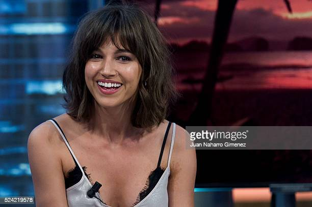 Ursula Corbero attends 'El Hormiguero' Tv show at Vertice Studio on April 25 2016 in Madrid Spain