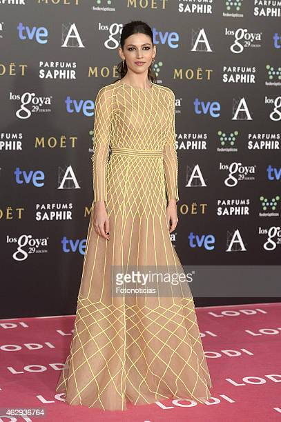 Ursula Corbero attends Goya Cinema Awards 2015 at Centro de Congresos Principe Felipe on February 7 2015 in Madrid Spain