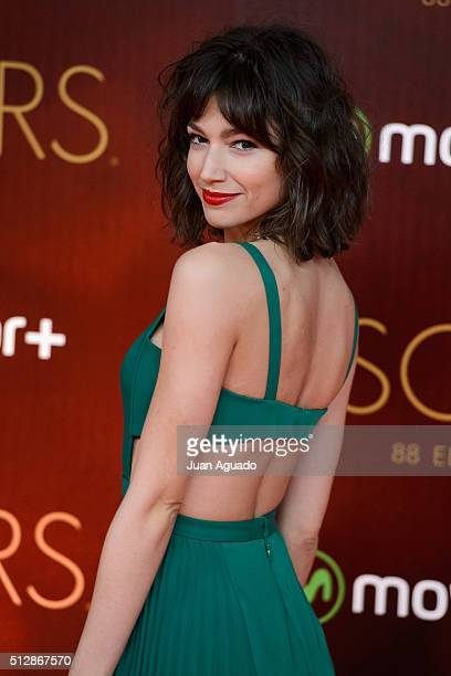 Ursula Corbero attends Oscars Party at Principio Pio Theater on February 28 2016 in Madrid Spain