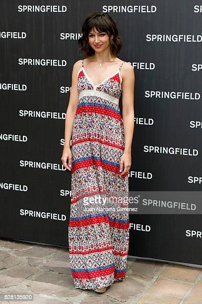 Ursula Corbero attends Springfield summer campaign presentation at Fortuny on May 4 2016 in Madrid Spain