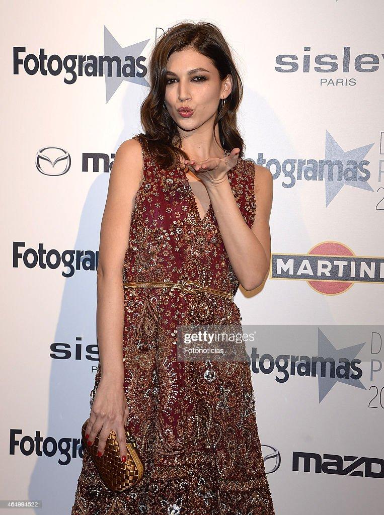 Ursula Corbero attends the Fotogramas Awards ceremony at Joy Eslava on March 2 2015 in Madrid Spain