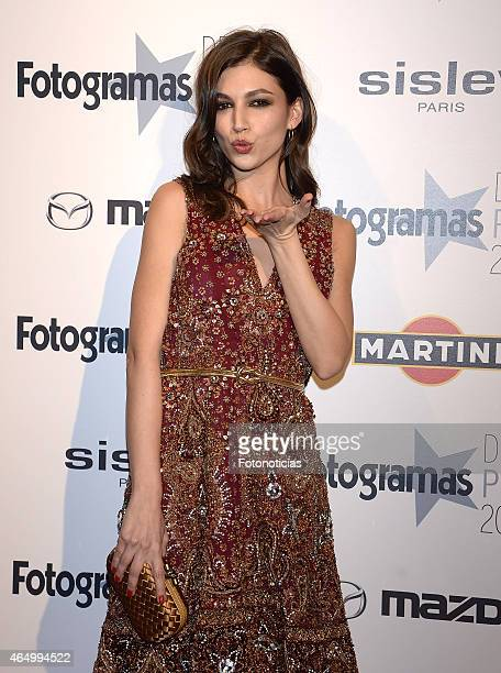 Ursula Corbero attends the Fotogramas Awards ceremony at Joy Eslava on March 2 2015 in Madrid Spain