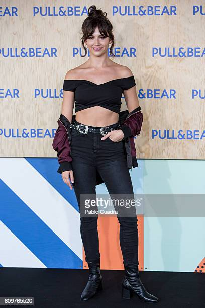 Ursula Corbero attends the opening of the new PullBear ecofriendly headquarters on September 22 2016 in Naron Spain