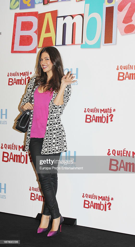 Ursula Corbero attends the photocall of '¿Quien Mato a Bambi?' at Hesperia Hotel on November 12, 2013 in Madrid, Spain.