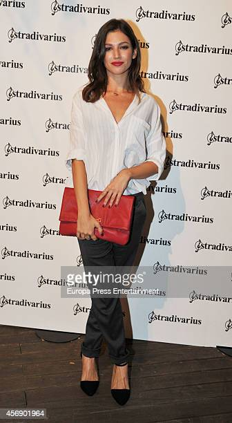 Ursula Corbero poses during a photocall for 'The Event Paper' party by Stradivarius on October 8 2014 in Barcelona Spain