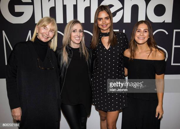 Ursula Hufnagl Allana May Samantha Harris and Tamara Davis attend the 2017 Girlfriend Priceline Pharmacy Model Search Launch on July 1 2017 in Perth...