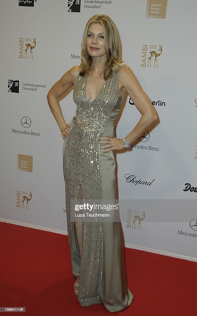 Ursula Karven attends 'BAMBI Awards 2012' at the Stadthalle Duesseldorf on November 22, 2012 in Duesseldorf, Germany.
