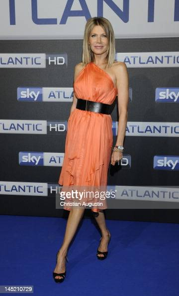 Ursula Karven attends SKY launch event Party at 'Schuppen 52' on May 23 2012 in Hamburg Germany