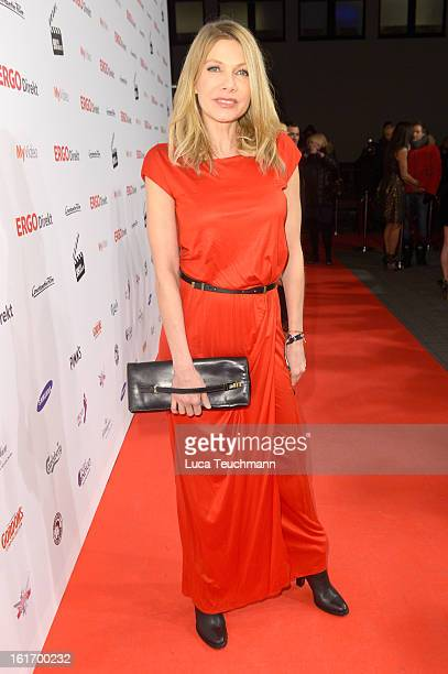 Ursula Karven attends the 5th '99FireFilmsAward' Red Carpet Arrivals at Admiralspalast on February 14 2013 in Berlin Germany