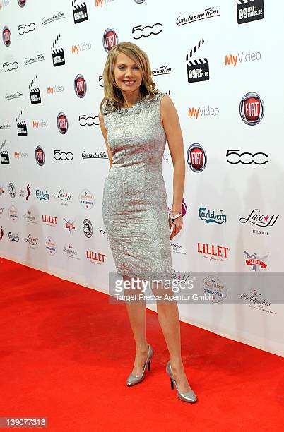 Ursula Karven attends the 99Fire Films Awards at Admiralspalast on February 16 2012 in Berlin Germany