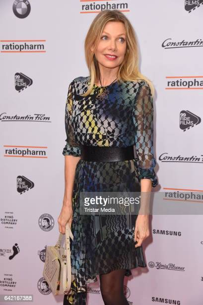 Ursula Karven attends the 99FireFilmsAward at Admiralspalast on February 16 2017 in Berlin Germany
