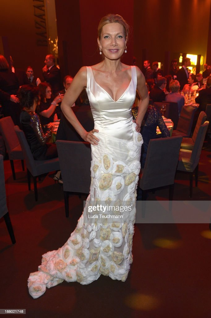 Ursula Karven attends the Bambi Awards 2013 After Show Party at Stage Theater on November 14, 2013 in Berlin, Germany.