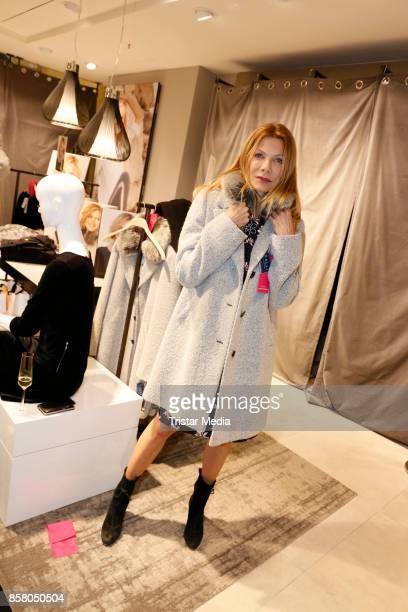 Ursula Karven during the Gerry Weber InStore Event on October 5 2017 in Hamburg Germany