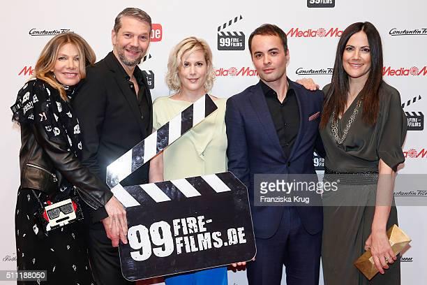 Ursula Karven Kai Wiesinger Anika Decker Nikolai Kinski and Bettina Zimmermann attend the 99FireFilmAward 2016 at Admiralspalast on February 18 2016...