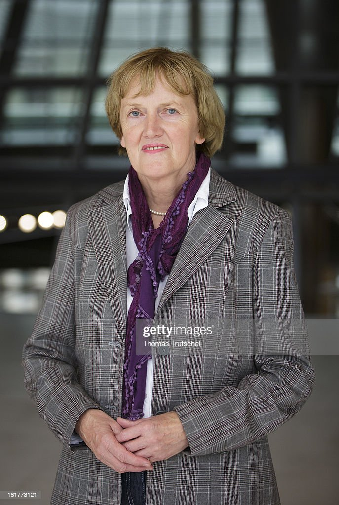 Ursula Schulte, SPD, member of German Bundestag, poses for a photograph on September 24, 2013 in Berlin, Germany.