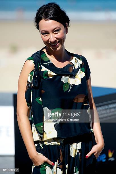Ursula Strauss attends 'Oktober/November' photocall during 61st San Sebastian Film Festival on September 23 2013 in San Sebastian Spain