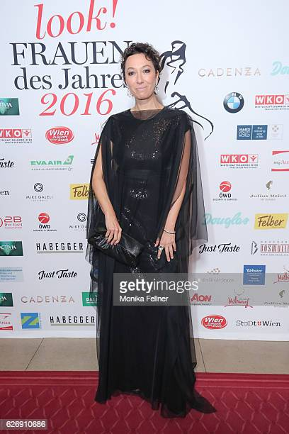 Ursula Strauss attends the Look Women of the Year Awards at City Hall on November 30 2016 in Vienna Austria