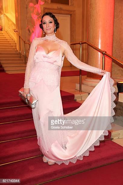 Ursula Strauss during the 27th ROMY Award 2015 at Hofburg Vienna on April 16 2016 in Vienna Austria