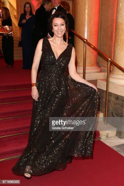 Ursula Strauss during the ROMY award at Hofburg Vienna on April 22 2017 in Vienna Austria