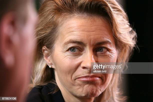 Ursula von der Leyen Politician Federal Minister for Family Affairs Senior Citizens Women and Youth CDU Germany