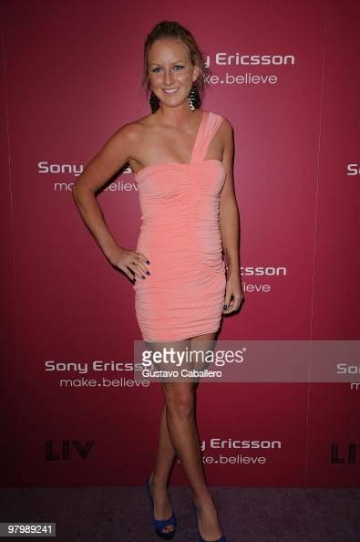 Urszula Radwanska attends The Sony Ericsson Open KickOff Party at LIV nightclub at Fontainebleau Miami on March 23 2010 in Miami Beach Florida