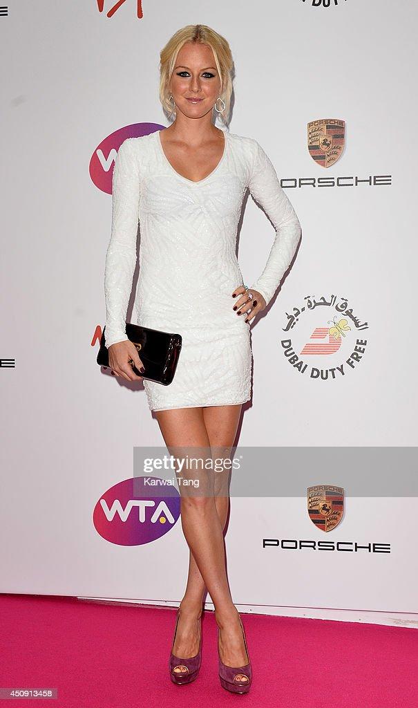 Urszula Radwanska attends the WTA Pre-Wimbledon party at Kensington Roof Gardens on June 19, 2014 in London, England.