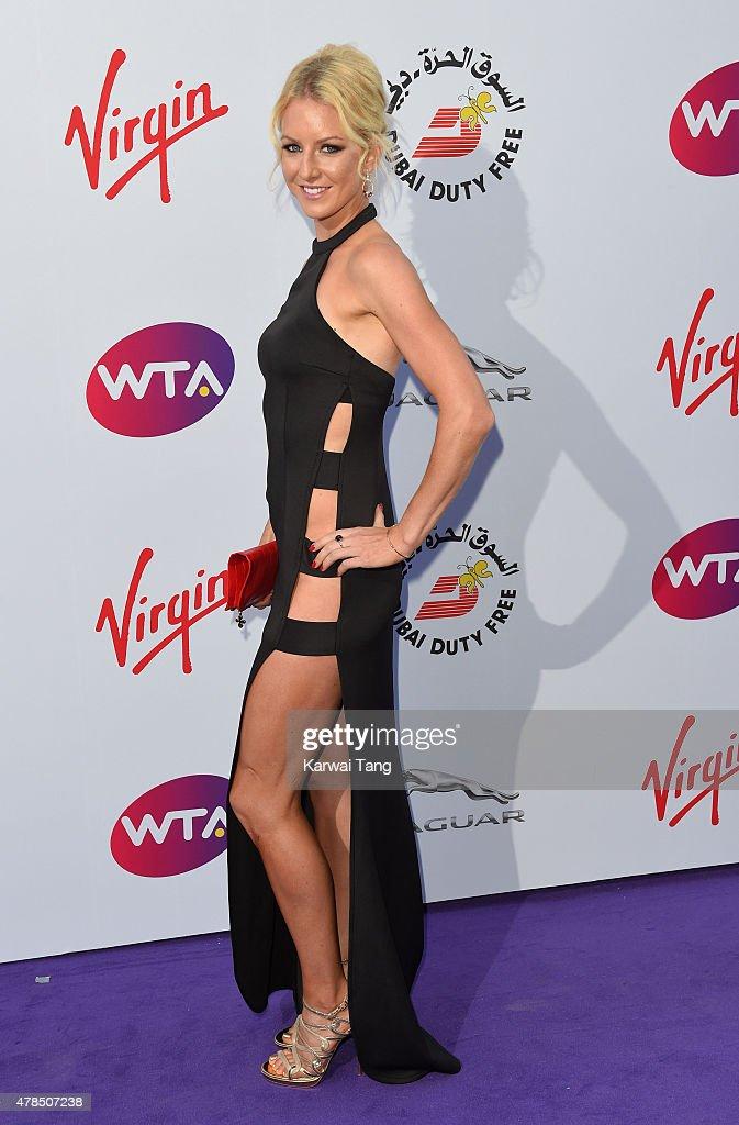 Urszula Radwanska attends the WTA Pre-Wimbledon Party at Kensington Roof Gardens on June 25, 2015 in London, England.