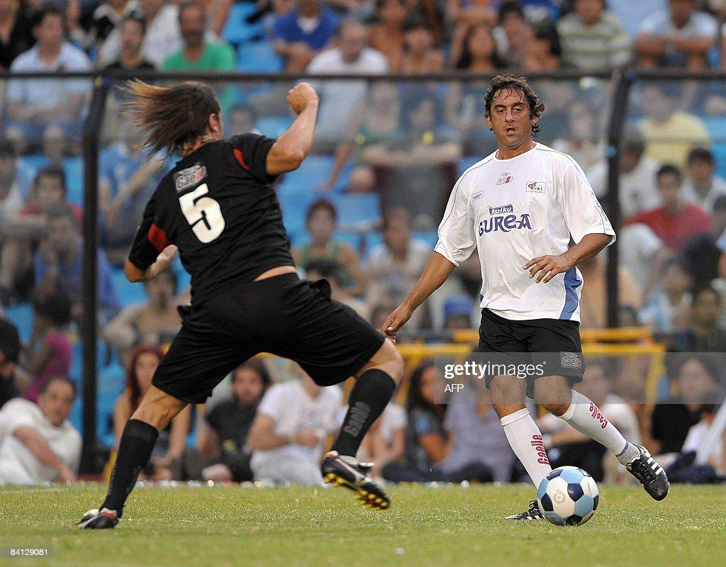 Uruguayan former footballer Enzo Frances